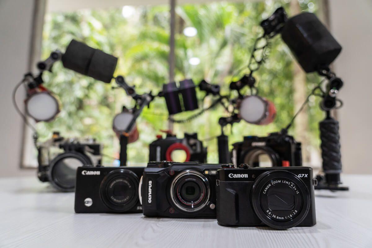 Underwater camera hire