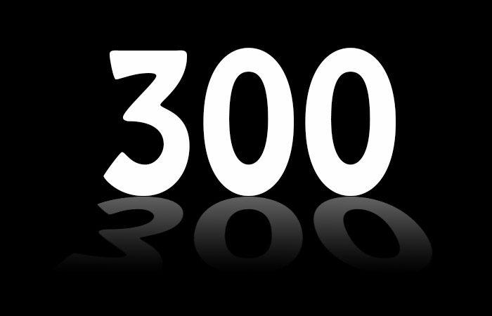"""300 """"Strait"""" Days"""