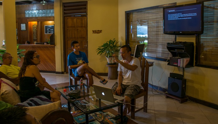 Day 3 of Exclusive SeaCam Workshop with Aaron Wong and 57diving.com