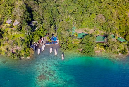 Aerial-Lembeh-Resort-2015