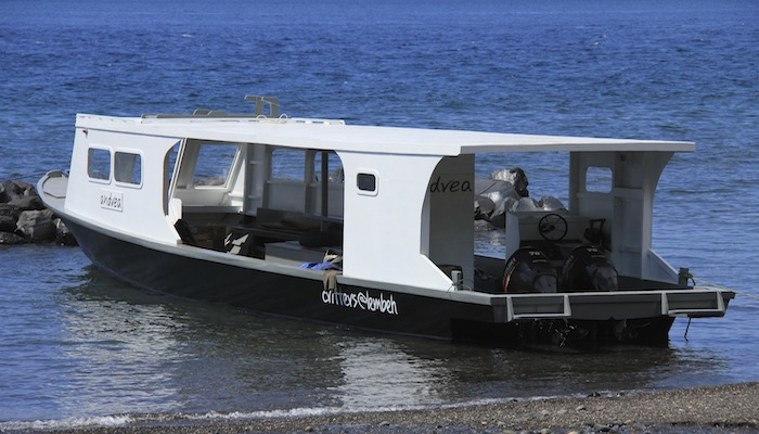 New Dive Boat