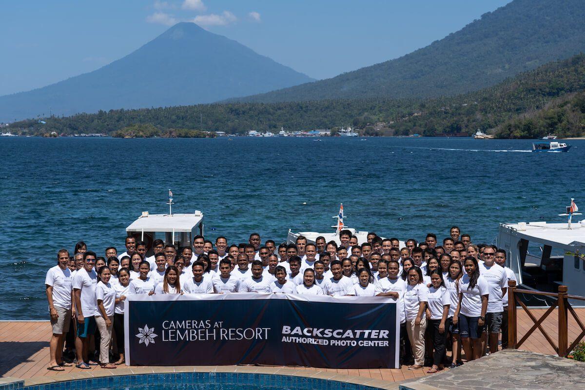 Lembeh Resort Backscatter Authorized Photo Center