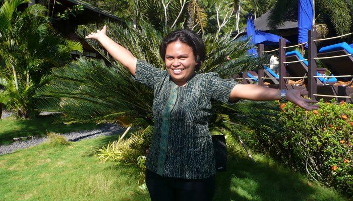 Lembeh Resort staff in the spotlight – Helen Pananggung