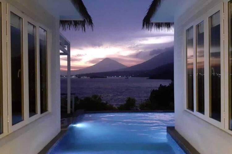 Cliffside Villa View