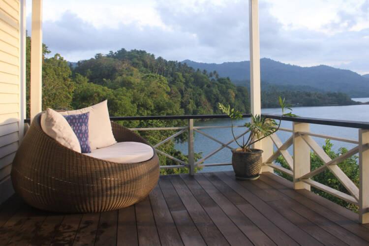 Private Villa Deck