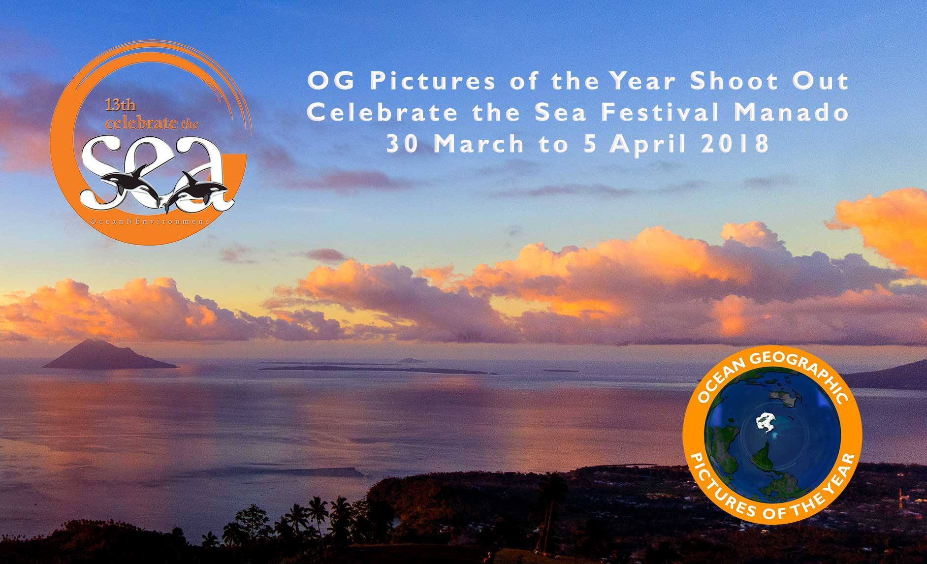 Celebrate the Sea Shootout & Sylvia Earle Manado 2018