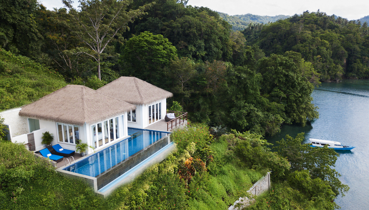 Cliffside suite Lembeh