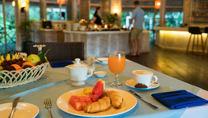 A new dining experience at Lembeh Resort