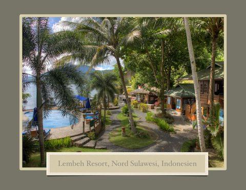 Lembeh Resort Coffee Table Book - German