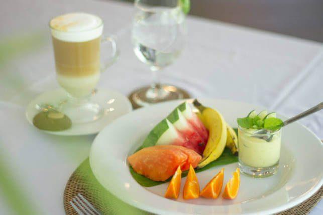 Food at Lembeh Resort