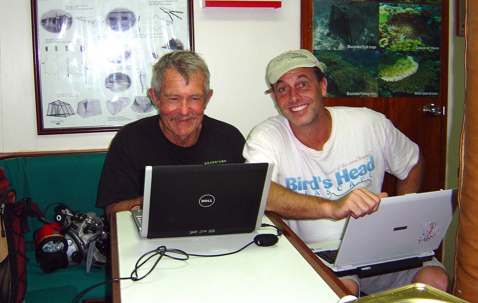 Gerry and Mark, Fish Geek Week, Lembeh Resort, critters@Lembeh Resort, North Sulawesi, Indonesia