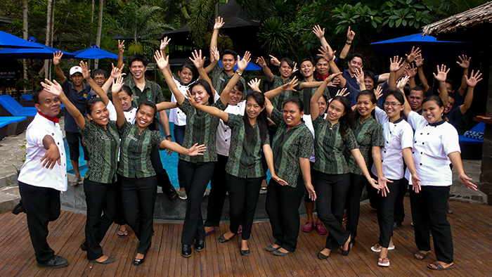 The Lembeh Resort team