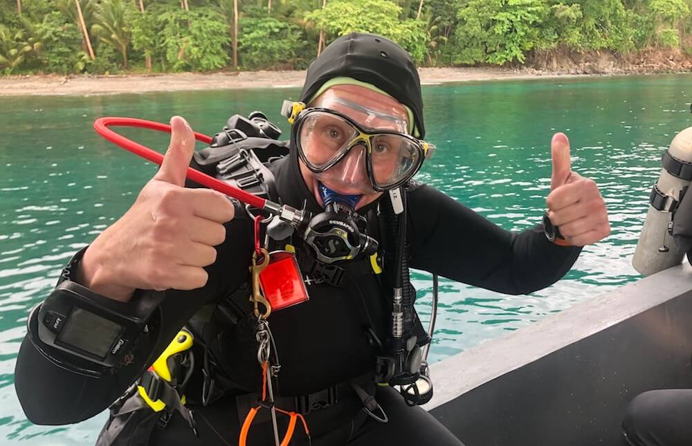 Diver in Lembeh