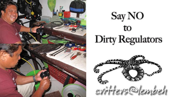 Say NO to Dirty Regulators