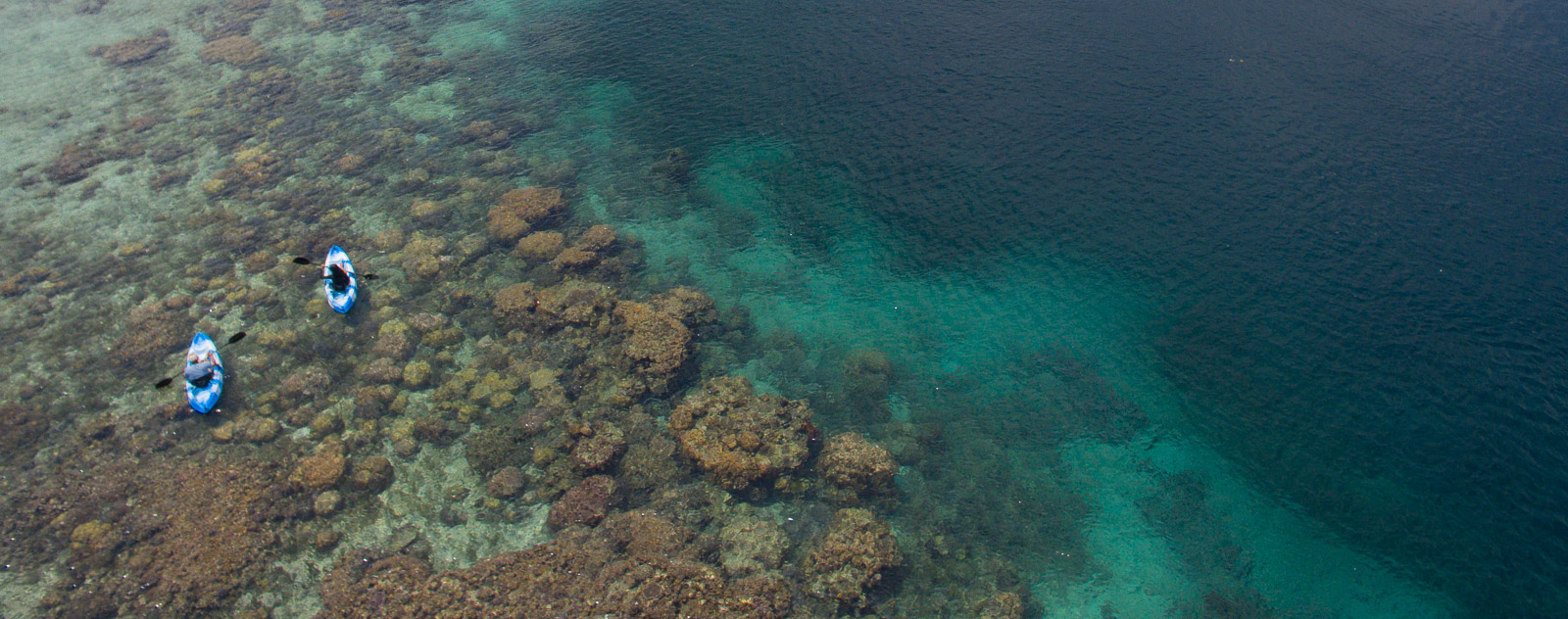 Kayaking in Lembeh Strait
