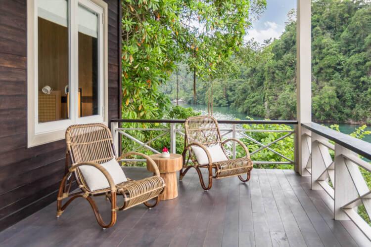 external luxury cottage lembeh