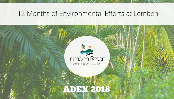 Keeping Green at Lembeh Resort