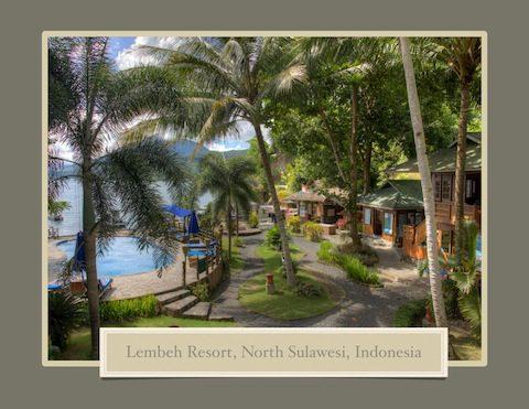 Lembeh Resort Coffee Table Book