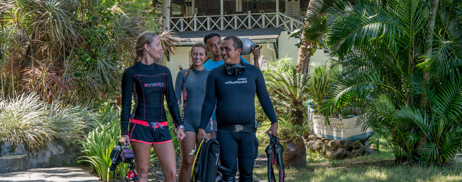 Lembeh Resort Dive Guides