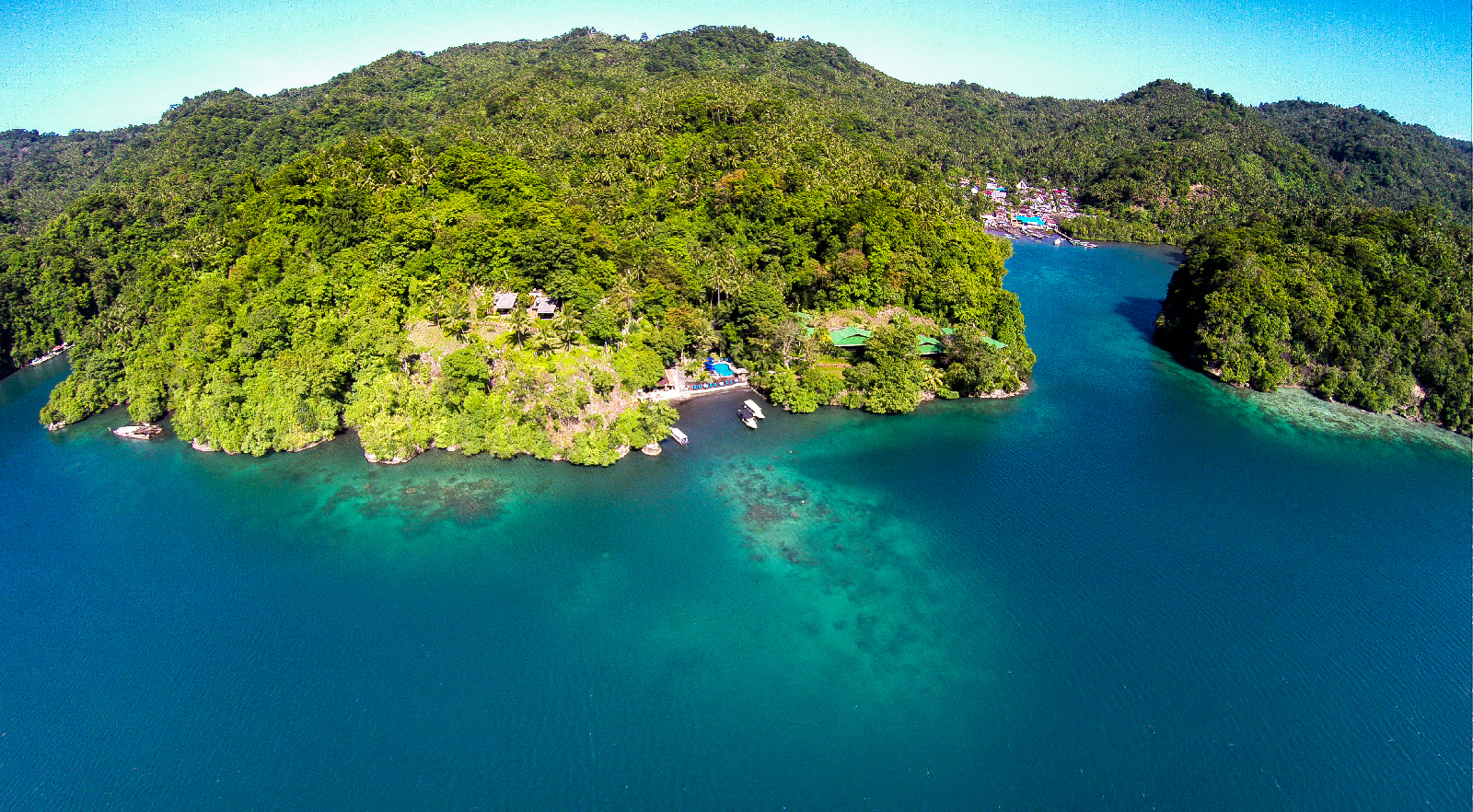 A Bird's Eye View of our Resort at Lembeh