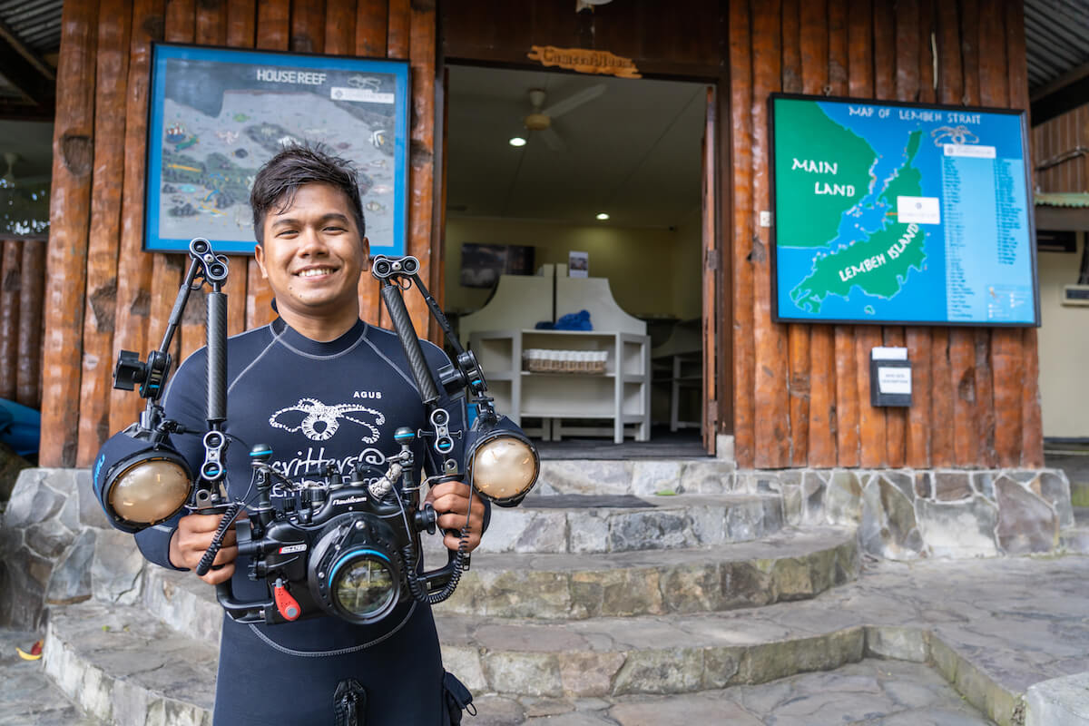 Luxury diving in Lembeh