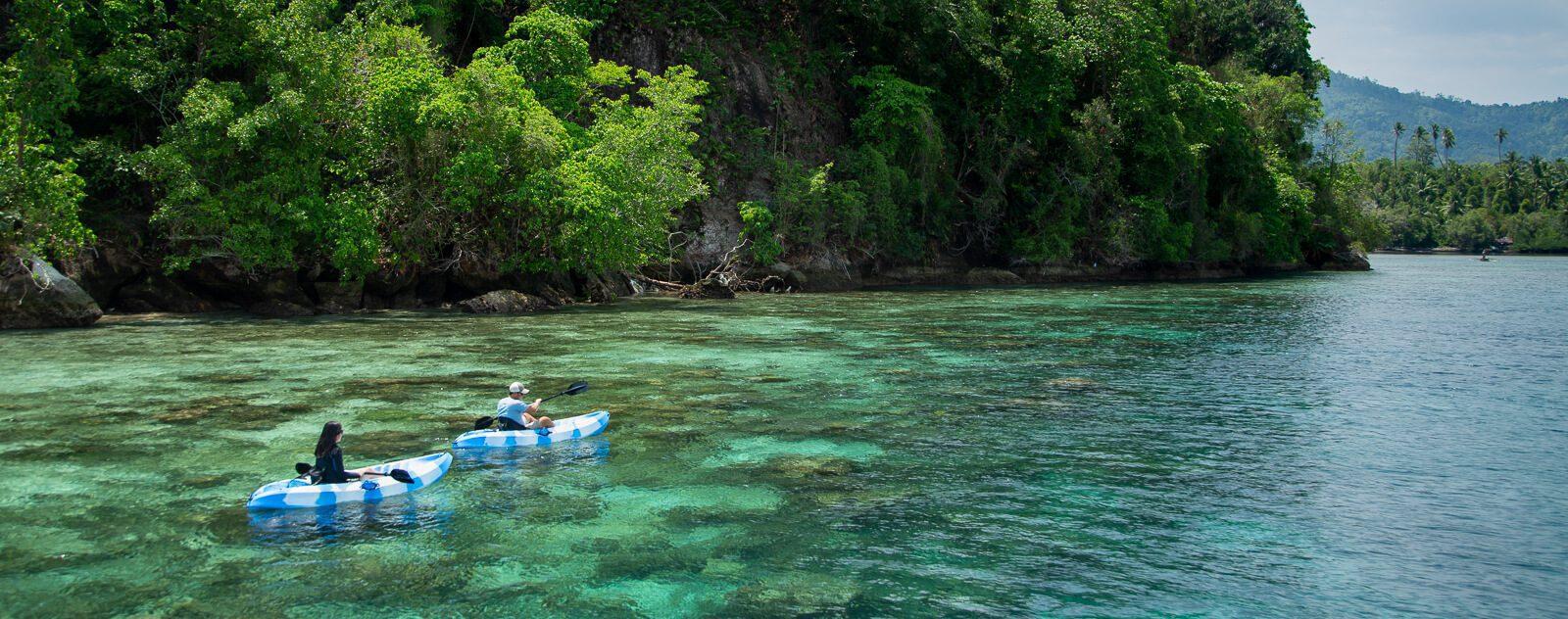 Kayaking in Lembeh