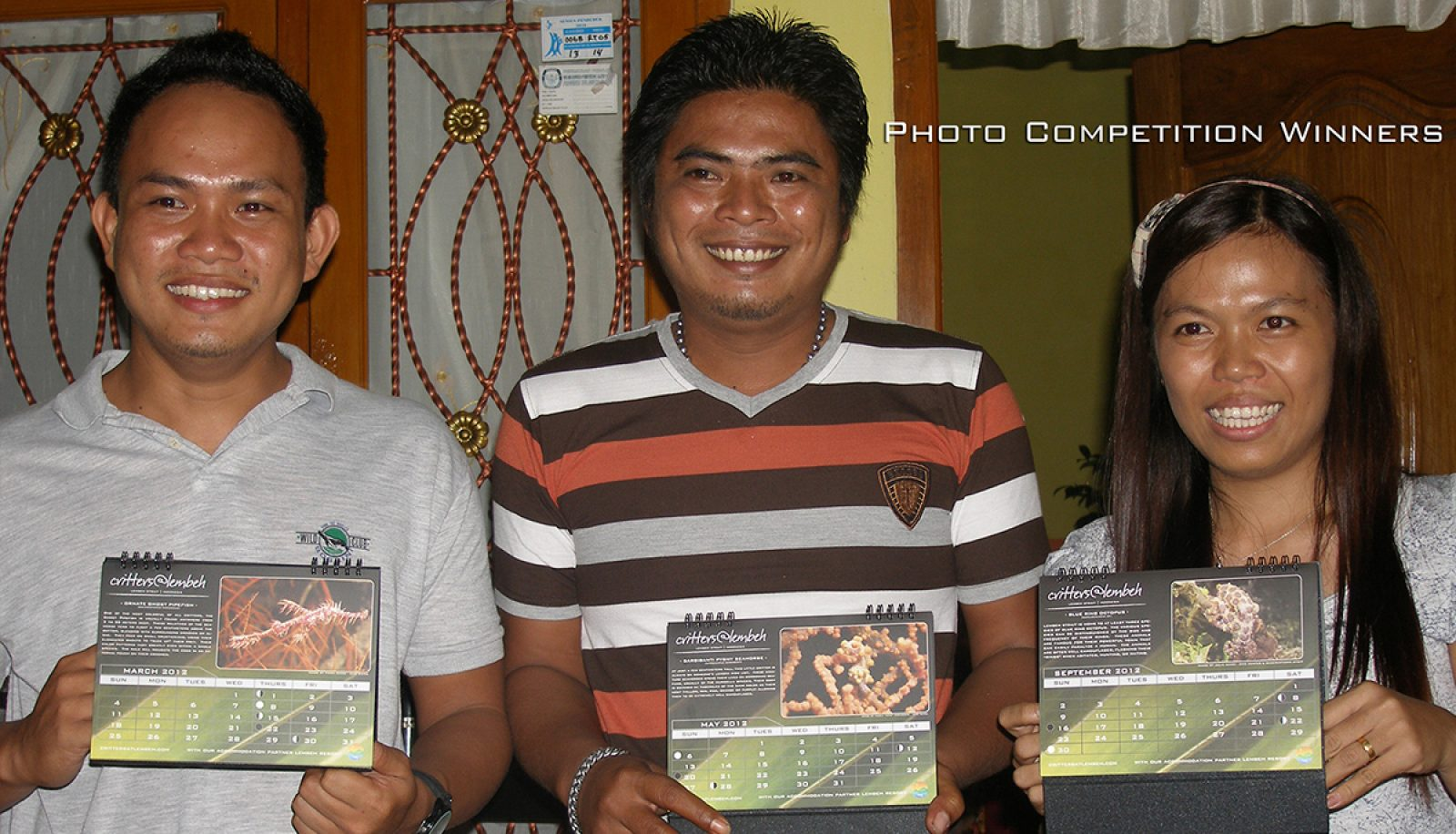 Winners – our Calendar 2012