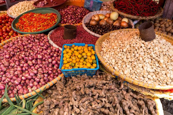 Bitung traditional market