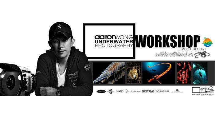 Coming Soon – AARON WONG  UNDERWATER PHOTOGRAPHY WORKSHOP