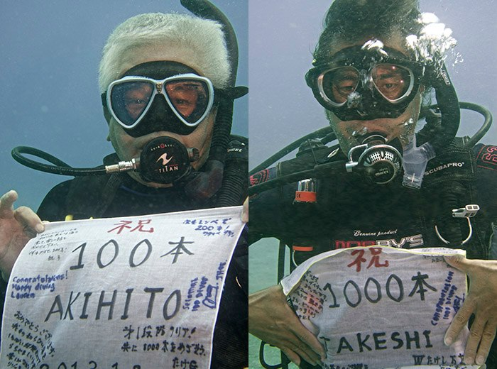 Diving Milestone in Lembeh