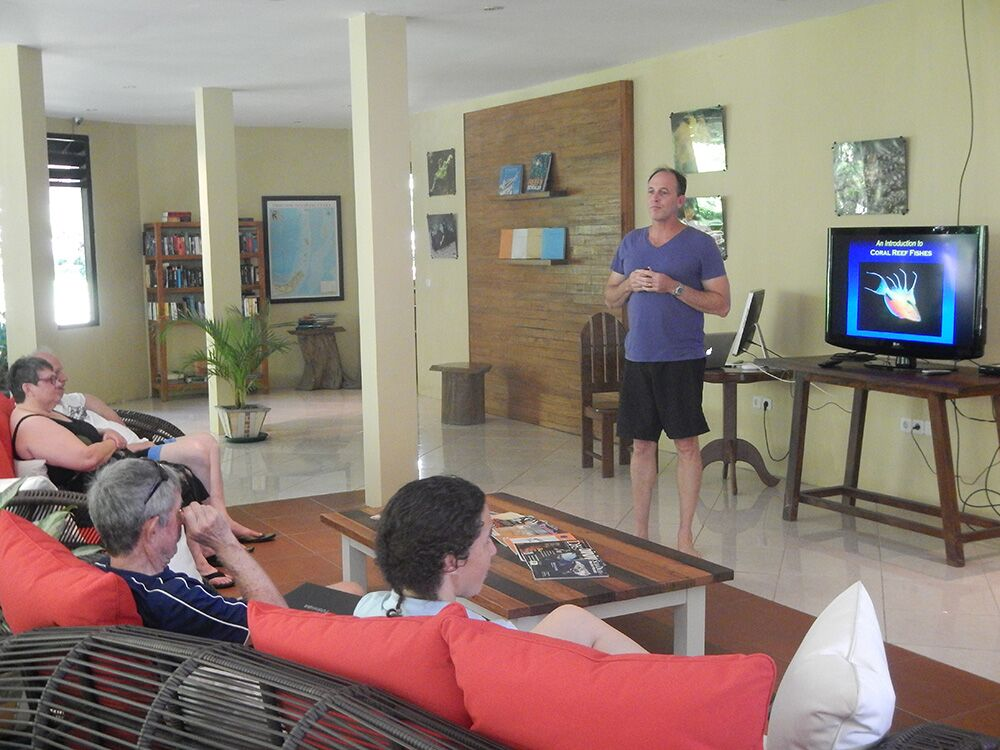 Mark Erdmann presentation at Lembeh Resort